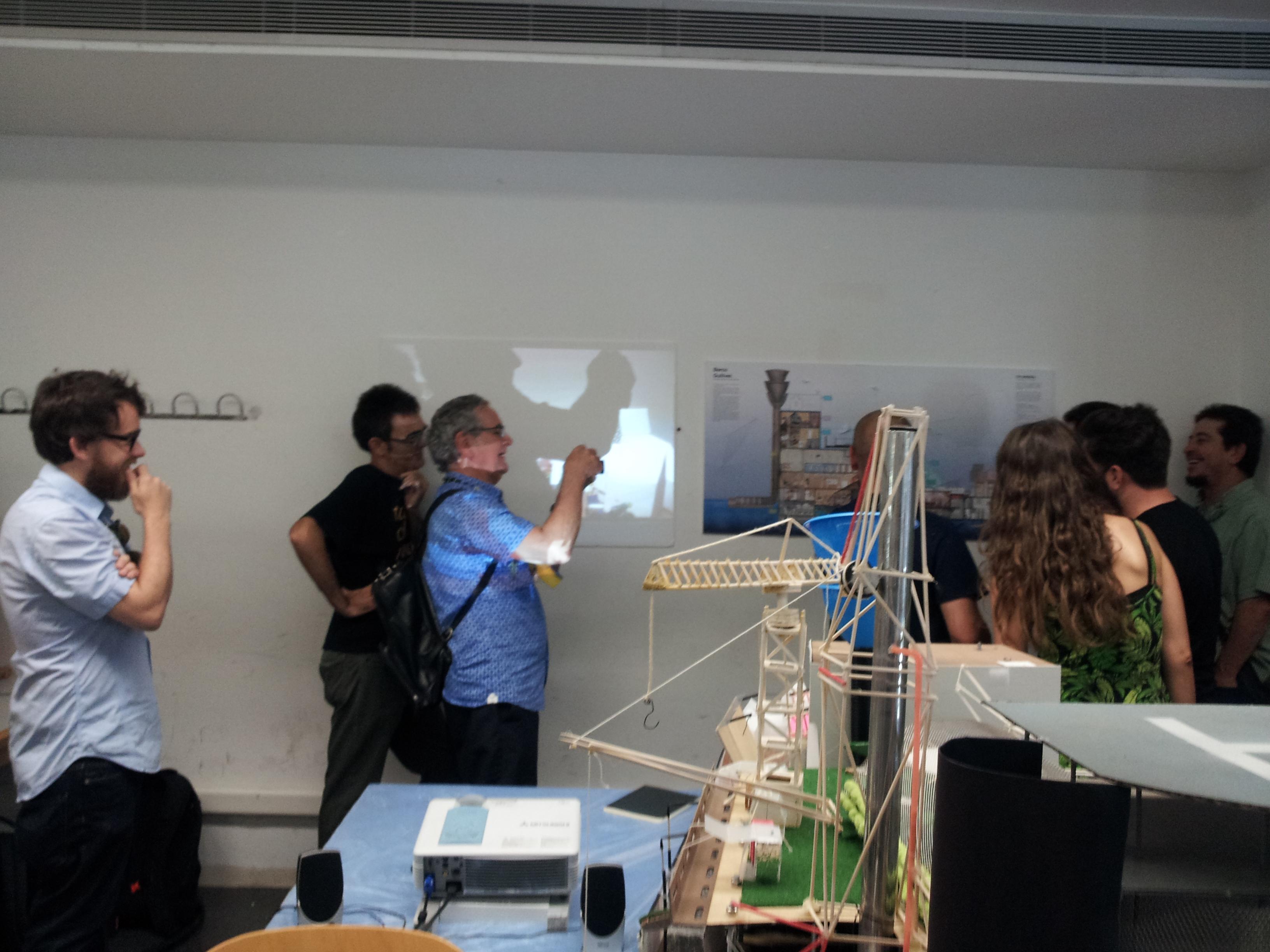 Fuimos invitados al jury de fin de curso de la escuela de for Cursos facultad de arquitectura